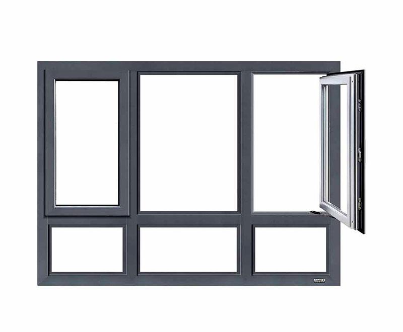 断桥铝平开窗