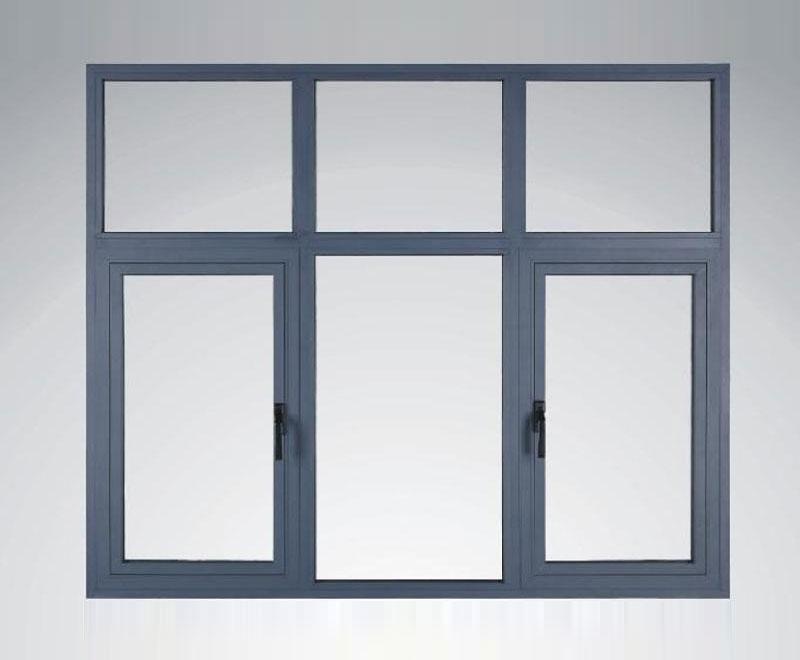 断桥铝型材平开窗
