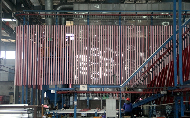 铝型材产品生产