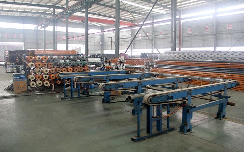 兴进铝业生产车间